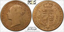 1871 S Half sovereign PCGS graded VG10