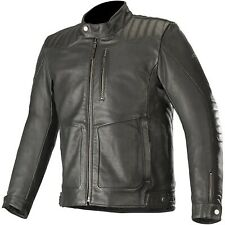 Alpinestars - Crazy Eight Leather Jacket Size: L Color/Finish: Black