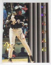 1994/95 Michael Jordan Chicago White Sox Sports Stars USA Fac. Auto Card #132 NM