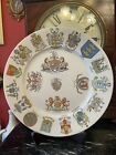 Rare Grimwades City Crests, Coats Of Arms Plate