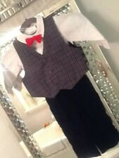 Vintage Boys Christmas 3 piece set Christmas outfit new no tags 18 months size