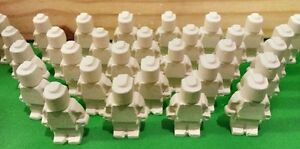 40 Minifigure: Reactive Shooting Targets Air Rifle Airsoft BB Exploding Clay