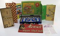 Spielesammlung Original DDR Spika  8 Brettspiele mit Beschreibung