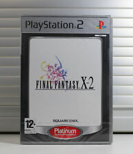 Final Fantasy X-2 -- Platinum Edition (Sony PlayStation 2, 2004) - European Version
