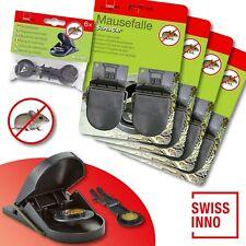 4 x 2 Stück Swissinno SuperCat Mausefalle + 1 x 6 Stück Ersatzköder