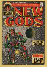 New Gods #1 DC Comics 1st Appearance of Orion Jack Kirby VF-