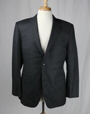 SuitSupply Charcoal Gray Wool Super 110's Blazer Suit Jacket Size US 40 R