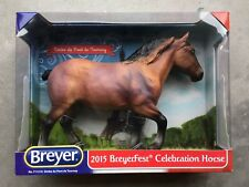 New NIB Breyer BreyerFest Horse #711216 Simba du Pont de Tourney Belgian SIGNED