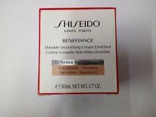 Shiseido Benefiance Wrinkle Smoothing Cream Enriched 50 mL/1.8 NIB