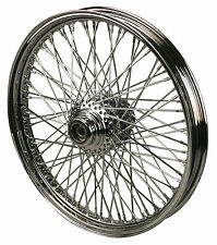 "Chrome Ultima 80 Spoke Billet 21 x 2.15"" Front Wheel for Harley Models 1984-1999"