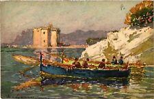 CPA   Ile ST. Honorat (France) Barques en catanque  (514509)