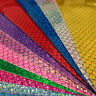 Mermaid Vinyl Glitter Fabric A4 Or A5 Sheets Felt Backed For Bows & Crafts