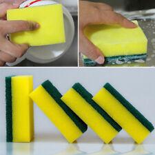 5Pcs Washing Sided Cleaning Dish Kitchen Tools Wipe Brush Sponge Scouring Gadget