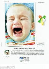 PUBLICITE ADVERTISING 096  1999  Hewlett Packard  imprimante HP Deskjet