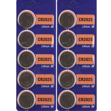 5 Pcs 3V Mini Coin Button Watch Cell Batteries For Sony CR2025 CR 2025 Useful