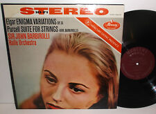 SR 90125 Elgar Enigma Variations Purcell Suite For Strings Halle Orch Barbirolli