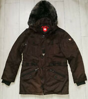 "Wellensteyn Elements ""M"" Winter Braun Parka Herren Jacke Jacket"