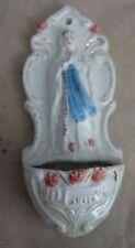 altes Weihwassergefäß Weihwasserkesse Weihwasser Gefäß Nr. 3166/09 Lourdes