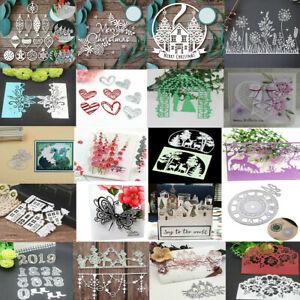 Metal Cutting Dies Stencils Scrapbook Embossing Decor Card Album DIY Paper Craft