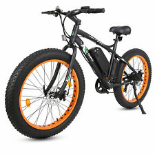Electric Bicycle Fat Tire Beach Snow Cycling Quite Ride Bow Hunting Bike 26 Inch