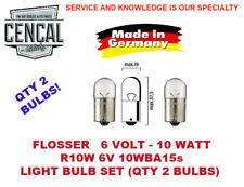 6670 FLOSSER 6V 88254022 2PC LIGHT BULB N177311 21W,BA15S, MADE IN GERMANY