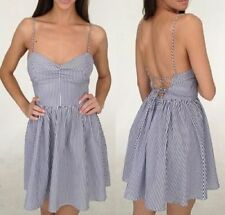 Backless Casual 100% Cotton Dresses for Women