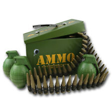 KIDS CHILDRENS ARMY GRENADE AND BULLET BELT PLAY SET MILITARY SOLDIER AMMO