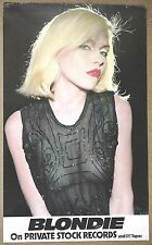 Blondie  Debbie Harry Exposed Breast Photo Original Private Stock 1976 Poster