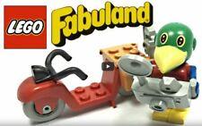 LEGO Fabuland Photographer Patrick Parrot - Vintage Set 3782 Minifig FREE POST