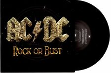 "ACDC - ROCK OR BUST / PLAY BALL - 7""45 VINYL RECORD PIC SLV 2014"