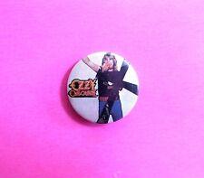 Ozzy Osbourne Vintage Button Pin Uk Import Badge