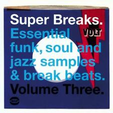 SUPER BREAKS VOLUME 3 Essential Funk, Soul And Jazz Samples & Break Beats NEW CD