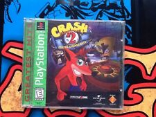 Playstation Crash Bandicoot 2 Cortex Strikes Back Complete Tested & Working