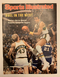 Sports Illustrated Marvin Webster Seattle Super Sonics 1978 Cover Only 5/22/78