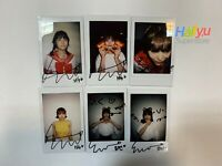 Heesun (of Pink Fantasy ) - HAND AUTOGRAPHED(SIGNED) POLAROID.