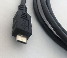 Vcom USB 2.0 a (M) a USB 2.0 Micro B (M) 1.8m Negro Cable de datos empaquetado al por menor
