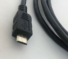 Vcom USB 2.0 A (M) a USB 2.0 Micro B (M) 1.8 M BLACK RETAIL imballati cavo dati
