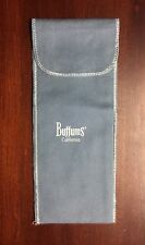 Buffums' California anti tarnish sterling silver bag 7 x 2.25 inches closed