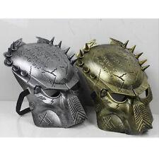 Movie Alien Vs Predator Warrior Cosplay Costume Full Face  Mask Adult Fashion