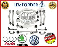 16mm Lemforder CONTROL ARMS SET KIT Audi A4 B6 8E B7 EXEO FL SUSPENSION WISHBONE
