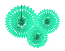 10cm Light MINT Green Tissue Paper Honeycomb Ball Party Decoration