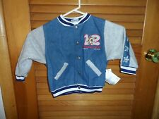 Baby Looney Tunes Toddler 2T denim jacket with Tazz
