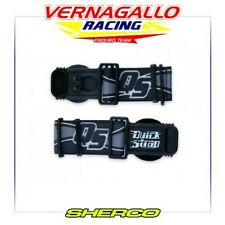 Quick straps MX Occhiali fissaggio endurohelm CROSS BIANCO