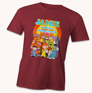 Jamie and his Magic Torch T-Shirt, inspired by the 1980's kids tv show, cartoon