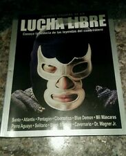 "MAGAZINE HISTORIA DE LAS LEYENDAS DEL CUADRILATERO "" BLUE DEMON"" COVER"