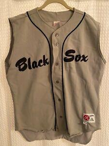 Vintage #8 Baltimore Black Sox Negro League Sleeveless Baseball Jersey Size 44