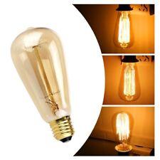 Proxinova Pack Edison Vintage LED Light Bulb Lamps Dimmable ST64 E27 40W A++