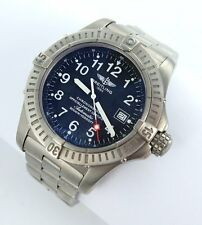 Breitling Avenger Seawolf Automatic Men's Watch Ref. E17370 Titan