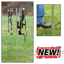 New Hold Up Displays Outdoor Twin Bow Holder Target Archery Model# HD61-O