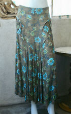 Y's Yohji Yamamoto Floral Rayon Maxi Skirt ~ 1